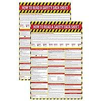 *数据表(SDS/MSDS)海报(2件装),60.96 x 91.44 cm,UV涂层纸,符合OSHA标准