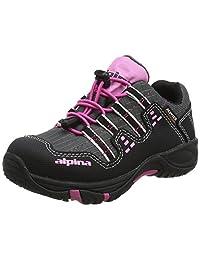 Alpina 女童 680401 低帮徒步靴