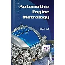 Automotive Engine Metrology (English Edition)