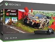 Xbox One X 1TB 游戲主機+ 極限競速:地平線4 + 樂高競速 同捆套裝