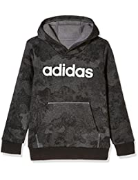 adidas Kids 阿迪达斯 男童 大童套头卫衣 YB LIN HOOD