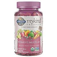 Garden of Life (生命花园) - mykind 有机物妇女多 40 + 整个食品软糖浆果 - 120 软糖
