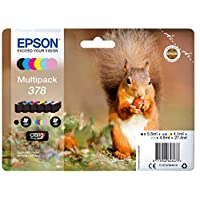 Epson 爱普生 Multipack 378 墨盒,HD BL照片,6色