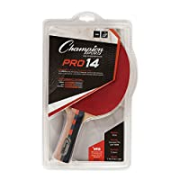 Champion Sports Pro 系列橡胶面乒乓球拍 - 多种速度评级
