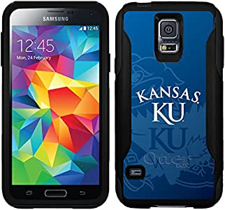 Coveroo Commuter 系列手机壳适用于三星 Galaxy S5 - 堪萨斯大学水印图案
