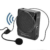 便携扩音器 小型 iitrust 免提 20W 活动讲演 说明会 适用于店面销售等 充电式 扬声器 麦克风 C01810-C-BLK