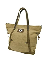 Canyon Outback 19-Inch Linen Tote Bag-Texas Longhorns