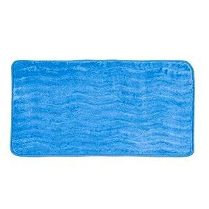 Bedford 家庭*泡沫 24 x 60 英寸浴垫 蓝色 67A-26624