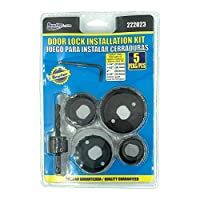 BRUFER 孔锯组合套装,门锁安装套件 5 件套
