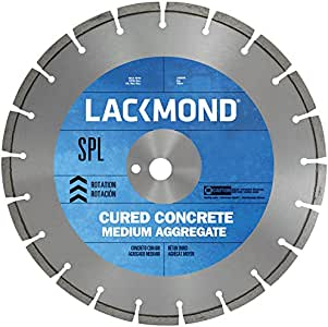 Lackmond Standard CW10 Series Wet Cut Diamond Blade for Cured Concrete 36-Inch by 0.187 by 1-Inch