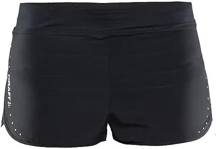 Craft 女士 Essential系列(2寸、5寸、紧身短裤、紧身七分、紧身长裤) 2寸跑步短裤 运动裤 1904777-9999