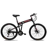 26寸折叠路虎款21速/24速悍马款山地自行车双碟刹山地车变速学生车男女变速单车