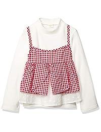 TAKIHIYO 格子吊带衫 + 长T恤 套装 女孩 MARIARJUE 女孩