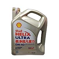 Shell 壳牌 helix ultra极净超凡喜力全合成润滑油 0W-40 SN/CF 4升装