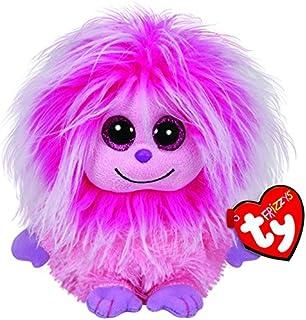 TY Frizzy 选择 Frizzys 带亮眼 24 cm 外星人球拍 24 Kink - pinker Frizzy