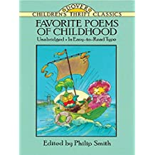 Favorite Poems of Childhood (Dover Children's Thrift Classics) (English Edition)