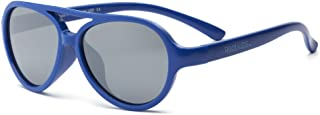 RKS 美国 防紫外线男童女童宝宝儿童太阳镜建议2岁以上(天空)宝蓝色