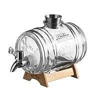 Kilner 玻璃器饮料桶 透明 34-Fluid Ounces 0025.793