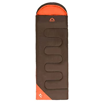 HIGHROCK 天石 中性 0度户外可拼接成人信封带帽加厚棉睡袋  N3354322010