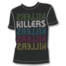 原版周边 The Killers:Logo X 5(男式 XL号 黑色)