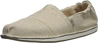 Skechers 斯凯奇 BOBS Bobs Chill-Twill Canvas Scrunch Back 芭蕾平底鞋