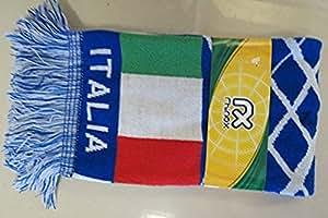 双提花针织足球围巾 - 意大利(意大利)