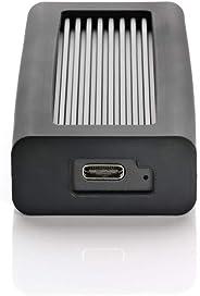 Helix Dura USB-C NVMe 便携式固态硬盘DM2-P8-1T-BK 1TB