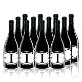 【亚马逊直采】Locations 洛珂轩 I- Italian Red Wine 意大利臻品红葡萄酒 2014 750ml*12(亚马逊进口直采红酒,西班牙品牌)自营精选