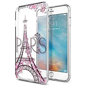 MTT 设计师 Apple iPhone 6s / 6 透明手机壳 EiffelTower