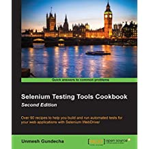 Selenium Testing Tools Cookbook - Second Edition (English Edition)