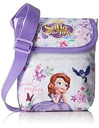 Princesa Sofía 门襟肩带包,紫色 - 611516220