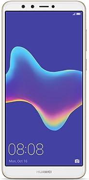 华为 Y9 2018 FLA-LX3 5.93 英寸HiSilicon Kirin 659 32GB 3GB RAM 双卡 A-GPS 指纹工厂解锁 无保修 美国 蓝色