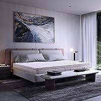 金可儿 乳胶床垫 匠心工艺 比利时乳胶 1.5 * 2米 双M护边 7分区设计 床席梦思 独立弹簧 乳胶床垫 驿梦