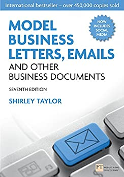 """""""Model Business Letters, Emails and Other Business Documents (English Edition)"""",作者:[Shirley Taylor]"""