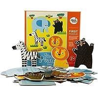 JoanMiro 美乐 儿童拼图幼儿早教大块拼图 野生动物系列 JM10292