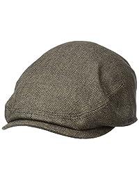 Stetson 男士羊绒混合象牙色帽带丝质衬里