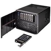 "SilverStone银欣 Technology Premium 8-bay 2.5"" NAS 小型机箱(CS280B) CS280B"