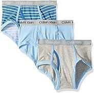 Calvin Klein 男孩款现代全棉条纹内裤,多件装