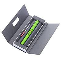 LAMY 凌美 safari狩猎者标准F尖墨水笔(钢笔)苹果绿-E107礼盒包装(标配吸墨器)(亚马逊进口直采,德国品牌)