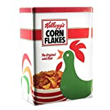 Kellog's' S kg30681 麦片盒,金属,白色,18.5 x 10.3 x 25 厘米 红色