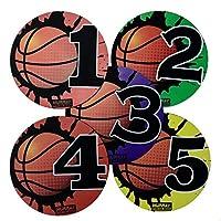 Murray Sporting Goods 篮球训练球位标,5 支装
