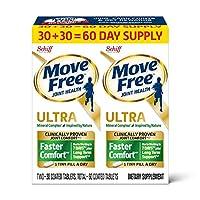 Schiff Move Free Altra 2 in 1 维骨力软骨精华素骨胶原60片(2盒装,每盒30片)