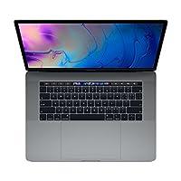 【2018新款】Apple 苹果 MacBook Pro 15英寸笔记本电脑 六核第八代Core i7处理器2.2GHz/16G/256G SSD/Radeon Pro 555X 4G独显/MR932CH/A 深空灰 苹果电脑 Multi-Touch Bar 套装版【内含定制版内胆包+罗技无线蓝牙鼠标+Chirslain清洁套装】