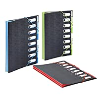 Viquel 989730-05 格子文件夹 A4 8 位置 Office 设计随机颜色选择