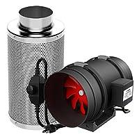VIVOSUN 内联风扇碳过滤器组合 Fan & Filter 8英寸