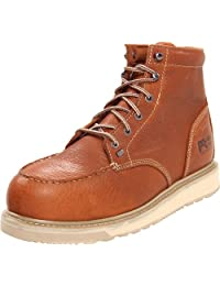Timberland 添柏嵐 PRO 男士 Barstow Wedge 安全頭Safety Toe Brown Boot棕靴
