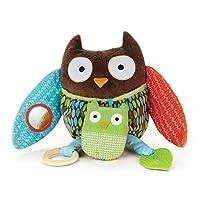 美国Skip Hop拥抱和躲藏活动布玩偶 猫头鹰SH307504