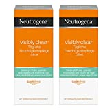 Neutrogena 露得清 Visibly 透明日常湿度护理乳液 oelfrei | klaerende 带 salicyl 酸适用于这脸适用于日夜 | 2 x 50毫升