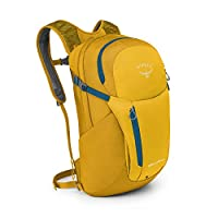 Osprey 中性 日光+ Daylite plus 20 黄色 20升 双肩日用运动背包多色可选户外背包附属包电脑包带13寸电脑仓户外日常两用包户外耐用徒步登山包 (两种LOGO随机发)