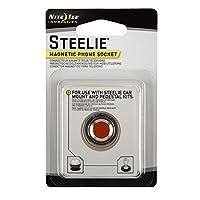 美国Nite Ize 奈爱 STEELIE斯蒂莱 出风口车载支架 手机吸盘 手机支架 夹车载支架套装 (配件-手机吸盘)